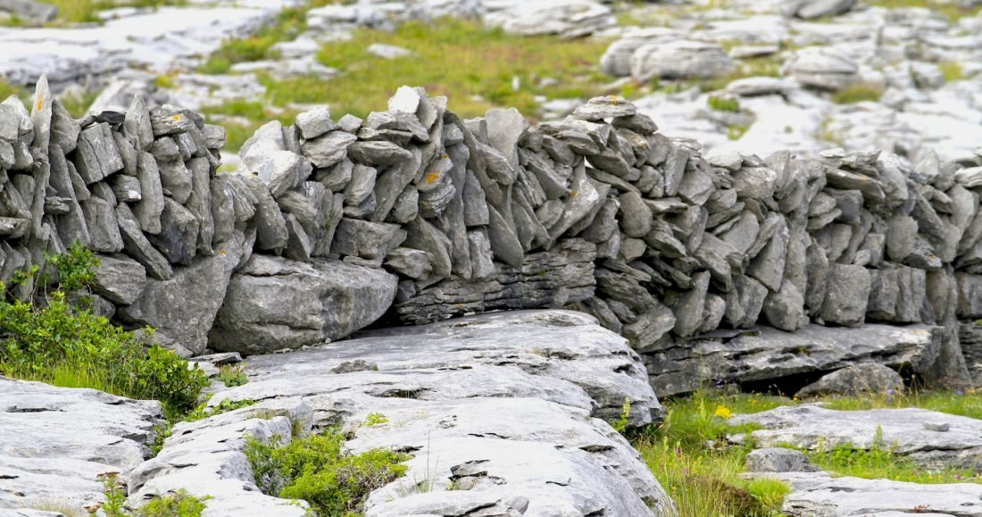 A sideways glimpse at the Burren