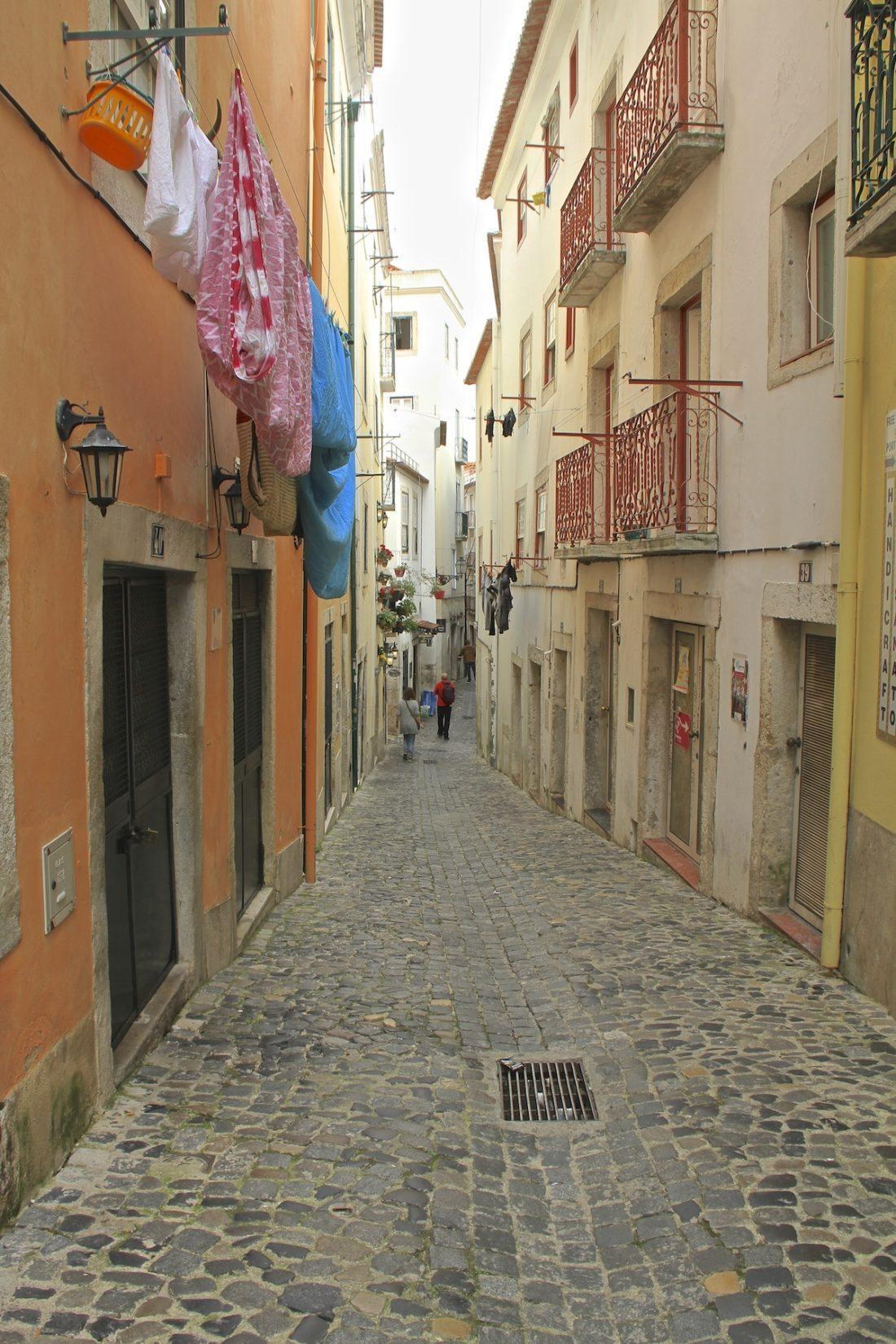 Alfama-street-Lisbon